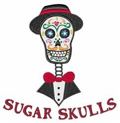 Sugar Skulls embroidery design
