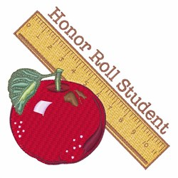 Honor Roll embroidery design