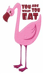 What You Eat embroidery design