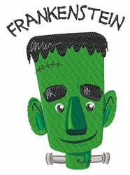 Frankenstein embroidery design