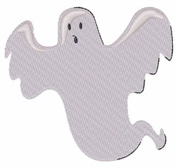 Spooky Ghost embroidery design