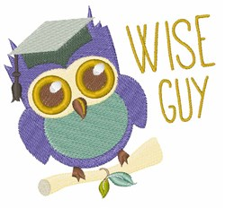 Wise Guy embroidery design