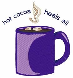 Hot Cocoa embroidery design