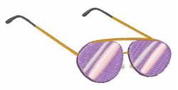 Sun Glasses embroidery design