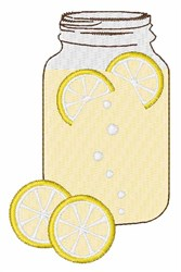 Lemondade embroidery design