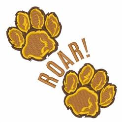 Roar embroidery design