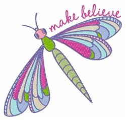 Make Believe embroidery design