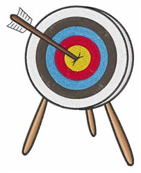 Archery Target embroidery design