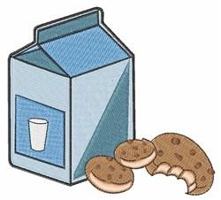Milk & Cookies embroidery design