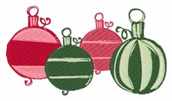Xmas Ornaments embroidery design
