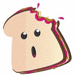 Sandwich Bite embroidery design