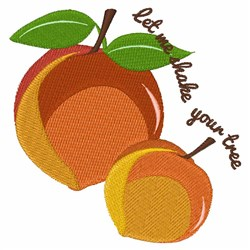Shake Your Tree embroidery design