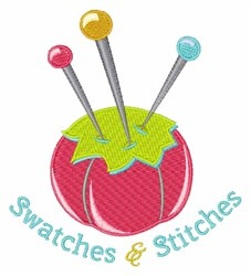 Swatches & Stitches embroidery design