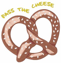 Pass The Cheese embroidery design