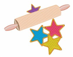 Rolling Pin embroidery design