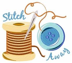 Stitch Away embroidery design