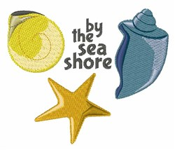 Sea Shore embroidery design