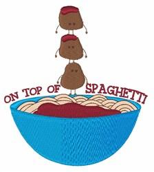 Top Of Spaghetti embroidery design