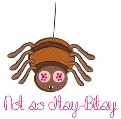 Itsy Bitsy embroidery design