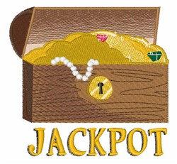 Jackpot embroidery design