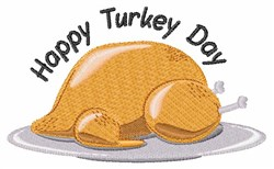 Turkey Day embroidery design