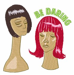 Daring Wigs embroidery design