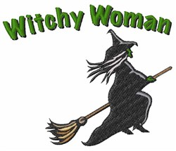 Witchy Woman embroidery design