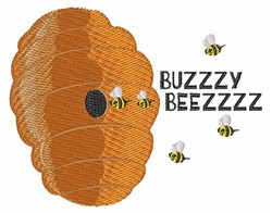 Buzy Beez embroidery design