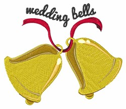 Wedding Bells embroidery design