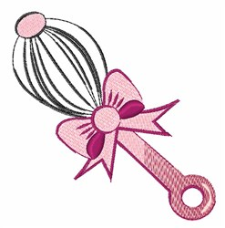 Hand Whisk embroidery design