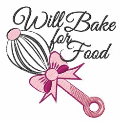 Will Bake embroidery design