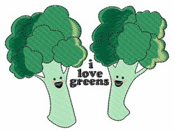 Love Greens embroidery design
