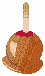 Carmel Apple embroidery design