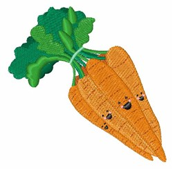 Bunch Of Carrots embroidery design
