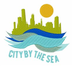 City By Sea embroidery design