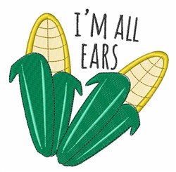 Im All Ears embroidery design
