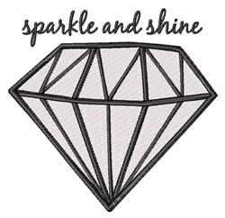Sparkle And Shine embroidery design
