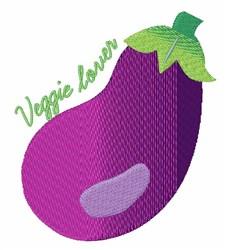 Veggie Lover embroidery design