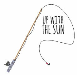 Up With Sun embroidery design