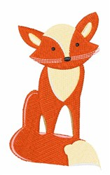 Red Fox embroidery design