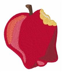 Apple Bite embroidery design