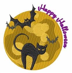 Happy Halloween embroidery design