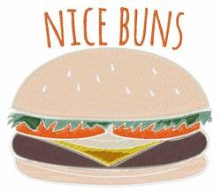 Nice Buns embroidery design