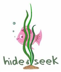 Hide & Seek embroidery design