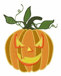 Holiday Pumpkin embroidery design