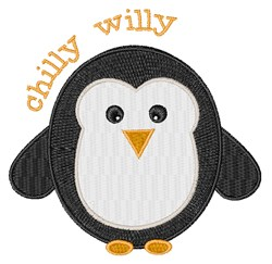 Chilly Willy embroidery design