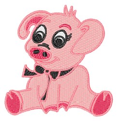 Little Pig embroidery design