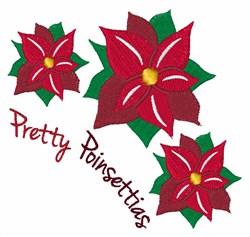 Pretty Poinsetias embroidery design