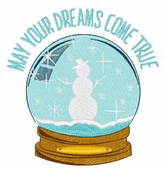 Dreams Come True embroidery design