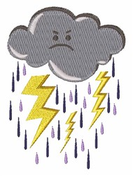 Storm Cloud embroidery design